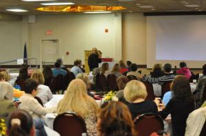 Audience at my keynote in Fargo, ND.