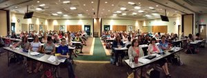 Crowd at CARD training in Jacksonville.