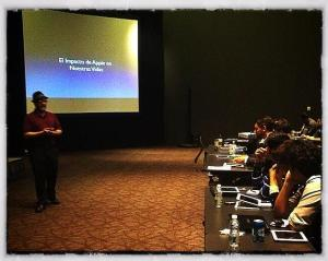 Presenting in Mexico City as part of Mexico Apple Learning Tour.