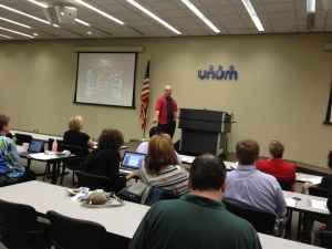 Presentation at Unum in downtown Chattanooga.