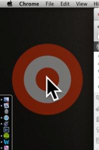Bullseye effect along with large cursor in Omnidazzle